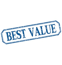 Best value square blue grunge vintage isolated vector