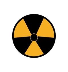 Biohazard industrial security icon vector