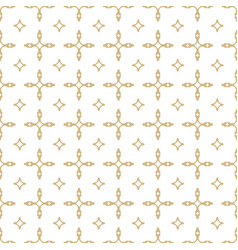 gold and white pattern ggeometric seamless vector image
