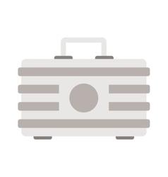 metal case vector image