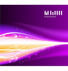 Purple futuristic abstract background vector