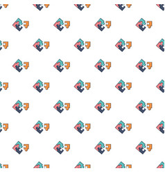Puzzle pattern seamless vector
