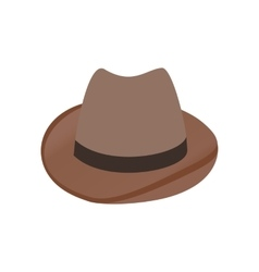 Cowboy hat isometric 3d icon vector