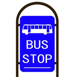 Bus stop converted 01 vector