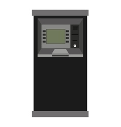 Atm machine isolated icon design vector