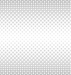 Abstract monochrome angular square pattern vector image vector image