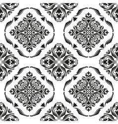 baroque texture vector image vector image