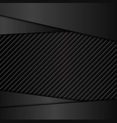 Dark metal backgrounds vector image vector image