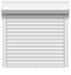 Roller shutter vector image vector image