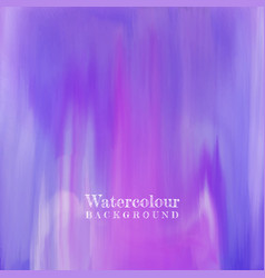 watercolour texture vector image vector image