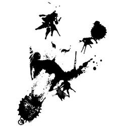 Grunge Cat3 vector image