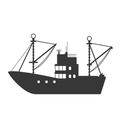 Ship icon transportation design graphic vector