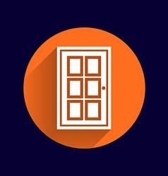 Door icon button logo symbol concept vector image vector image