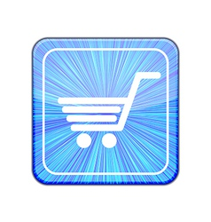 version Shopping icon Eps 10 vector image