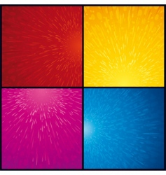 Techno backgrounds vector