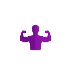 Powerful icon vector