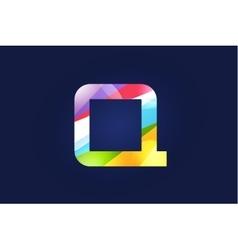 Q letter logo icon symbol vector image vector image