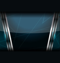template dark background vector image vector image