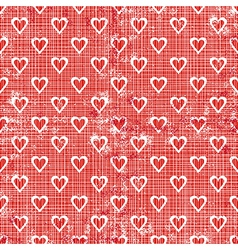 Valentines gift red textures vector