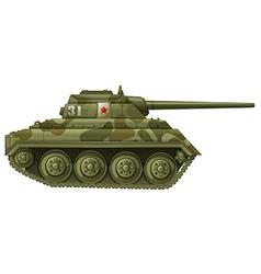 An armoured tank vector