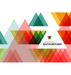 Triangle geometric concept vector
