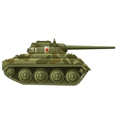 An armoured tank vector