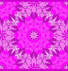 Sketch watercolor style seamless spring pattern vector