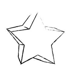 Star shape symbol vector