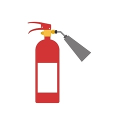 Extinguisher industrial security icon vector