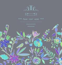 Artistic background design vector image vector image