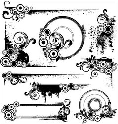 design elements frame vector image vector image