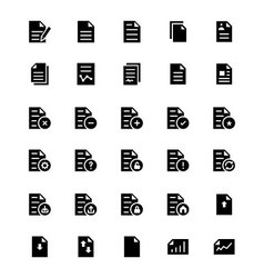 Documents icons 1 vector