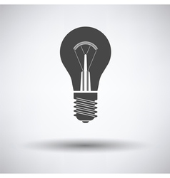 Electric bulb icon vector image