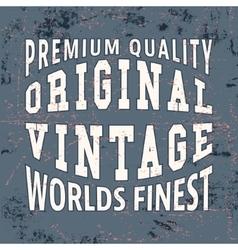 Finest vintage stamp vector image vector image