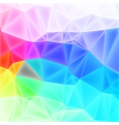 Low poly art background vector