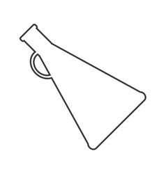 megaphone amplifer announce design vector image