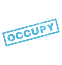 Occupy rubber stamp vector