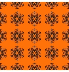 Seamless Ornamental stylized flower pattern for vector image