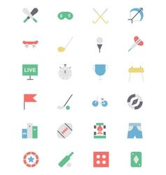Sports Colored Icon 2 vector image
