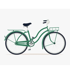 Vintage bike icon vector