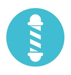 Barbershop pole symbol vector