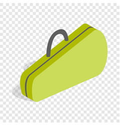 case for tennis rackets isometric icon vector image