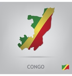 country congo vector image