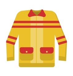 Firefighter costume vector