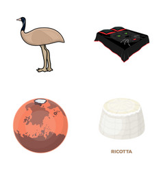 travel nature ecology and other web icon in vector image