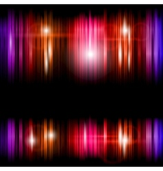 Abstract shiny colorful lines background vector image