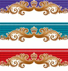 ornamental design vector image