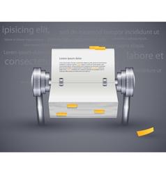 calendar daily vector image vector image