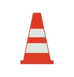 Cone industrial security icon vector