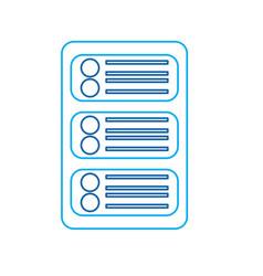 Data center development network technology vector